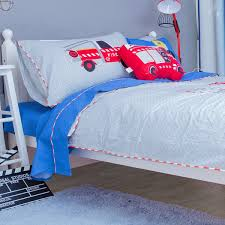 100 Fire Truck Bedding Cushion