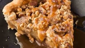 Pumpkin Pie With Pecan Streusel Topping by Caramel Apple Pecan Streusel Pie Baked By An Introvert