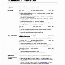 Sample Resume For Lecturer In Computer Science With Experience Best
