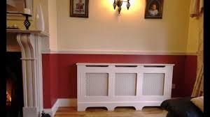 Radiator Cabinets Bq by Radiator Covers By Loughview Furnishings Youtube