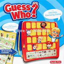 Party Family Fun Board Guessing Game GUESS WHO With 2 Character Sheets People And Pets