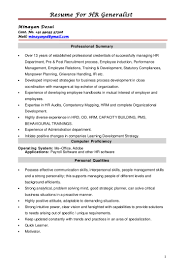 Resume For HR Generalist [13+] Human Resource Generalist Resume Sample Best Of 8 9 Sample Resume Of Hr Colonarsd7org Free Templates Rources Mplate How To Write A Perfect Hr Mintresume Senior For 13 Samples Velvet Jobs Professional Image Name Nxrnixxh Problem Consultant