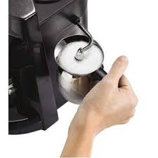 Mr Coffee BVMCECM260 Steam Espresso Machine Stainless Steel And Black