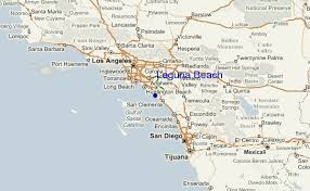 Laguna Beach Regional Map