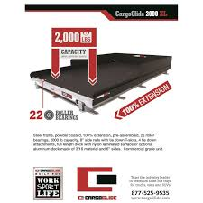 Cargo Glide CGL-10006348DM Slide Out Truck Bed Tray - Pricefalls.com ...