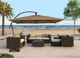 Cantilever Patio Umbrellas Sams Club by Best 25 Large Patio Umbrellas Ideas On Pinterest Large Outdoor