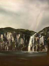 100 Waterfall Bay Stuart Clues Painting Gallery Salamanca