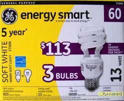 12 ge 13 watt 60 watt energy smart compact fluorescent light