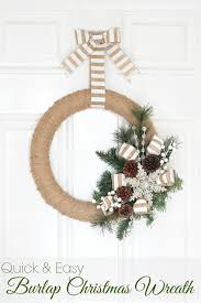 Rustic Christmas Door Decorations For Home Owners Who Wanted It A Bit And Simple