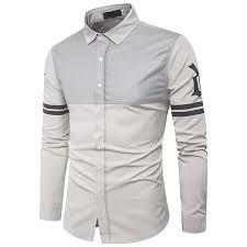 popular slim fit solid colour shirt men buy cheap slim fit solid