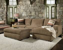 Conns Living Room Furniture Sets by 48b0 Meade Mocha 2 Piece Sectional By Corinthian 1 100 Living