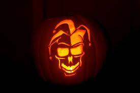 The Joker Pumpkin Stencil by A Vintage Lifestyle