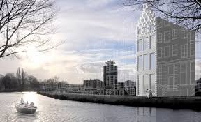 In An Attempt To Build The First 3D Printed House World Architects Have Planned Its Site Alongside A Canal Amsterdam