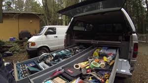 Home Made Truck Bedslide - YouTube Photo Gallery Are Truck Caps And Tonneau Covers Dcu With Bed Storage System The Best Of 2018 Weathertech Ford F250 2015 Roll Up Cover Coat Rack Homemade Slide Tools Equipment Contractor Amazoncom 8rc2315 Automotive Decked Installationdecked Plans Garagewoodshop Pinterest Bed Cap World Pull Out Listitdallas Simplest Diy For Chevy Avalanche Youtube