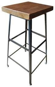 100 Retro High Chairs American Iron Industrial Loft Style Vintage Wood Bar Stool Bar Stool