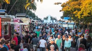 Enjoy Food Truck Fridays In Balboa Park