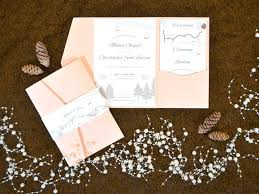 Wedding Pocket Invitations 5651 Plus Rustic Mountain Inspired Invitation By Creative Diy