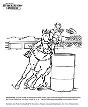 Calf Roping Coloring Pages Ideas Bull Rider