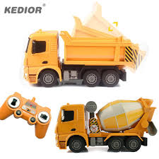 Rc Truck Big Dump Truck Electric Engineering Machine Radio ...