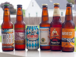 Southern Tier Pumking Fest by An Upstate Six Pack Of Fall Seasonals Hold The Pumpkin Beer