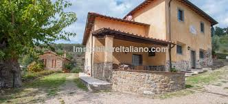 Tuscan Farmhouse Agriturismo For Sale With Dependence Olive Grove And Swimming Pool Accommodates Up