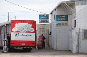 With Little Fanfare, Whiteclay's Four Beer Stores Shut Down Pending ... Ackerman Beer Trucks Wandell Poland Lesser Region Krakow Beer Truck Driver Stock Photo Uber Selfdriving Truck Packed With Budweiser Makes First Delivery Tank At The Toad Boy On Park Bench Tap Central Valley Food Trailer Trucks Beertrucks Twitter Craft And Pong Elegant Eertainment Dc Food Dinner March 2324 Flying Dog Brewery Cch Stella Artois Advee Commercial By A Is Video