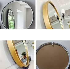 30 cm 80 cm runde wand bad gold spiegel eisenrahmen