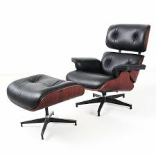 PartsComUSA: Eames Lounge Chair & Ottoman Reproduction Style Black Rosewood  Italian Leather | Rakuten.com Brown Leather Eames 670 Rosewood Lounge Chair 2 Home Brazilian Sold 1970s Herman Miller Ottoman Details About Rare 1960s Lcm Mid Century Modern Classic Emes Style And 100 Top Genuine Black 60s Italian White In Early Special Order Green