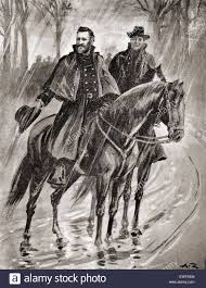 General Grant Reconnoitering In The Rain At Belmont Missouri Before Battle 1861 Ulysses S 1822 1885 Commanding Union