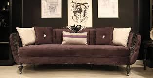 casa padrino luxus barock sofa lila schwarz silber 267 x 90 x h 100 cm wohnzimmer sofa mit edlem samtstoff barock möbel