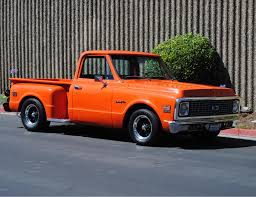 100 Chevy Stepside Truck 1972 Truck For Sale