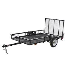 100 Rent A Truck From Lowes CarryOn Trailer 5ft X 8ft Wire Mesh Utility Trailer With Ramp