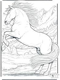 Realistic Unicorn Coloring As Well Horse Pages For Girls Country Western Wild Games Unblocked Full Size