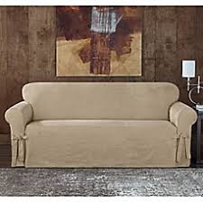 Sure Fit Sofa Slipcovers by Sure Fit Bed Bath U0026 Beyond