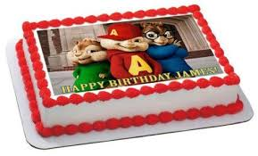 Alvin And The Chipmunks Cake Decorations Uk by All Cake Toppers And Cupcake Toppers Strips For The Cake Side