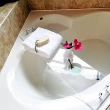 Diy Bathtub Caddy With Reading Rack by Diy Lucite Bathtub Caddy Diy Things Pinterest Bathtub Caddy