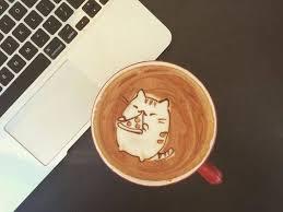 Cute Drawings On Coffee Foam Fubiz Media