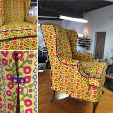 Making A Slipcover | DIY Slipcover For Sofa Or Chair | Kim's Upholstery Sure Fit Cotton Duck Folding Chair Slipcover Wayfair Custom Slipcovers By Shelley Floral Wingback Chair With Boxpleat What Is Upholstery And How Do You Choose The Best Fabric For Your Bedroom Astonishing Wing Recliner For Elegant Home In Buffalo Check The Maker Chairs Redoubtable With Arms Magnificent Vintage Duralee Linen Blue White 2019 To Reupholster A A Bystep Tutorial Guide Amazoncom Tailor Microsuede Fniture Ikea Sofa Cover Couch Comfort Works