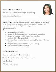 Resume Sample Malaysia 2016 New Formate Of Orgizmo