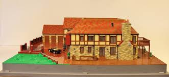 Mock Tudor House Photo by Mock Tudor House A Lego Creation By Mortalswordsman Mocpages