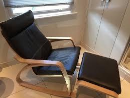 Ikea Rocking Chair Nursery by Chairs Ikea Poã U201eng Nursery Rocking Chair With Footstool Leather