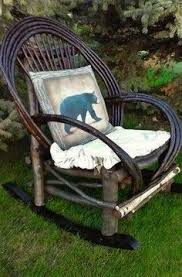 This Is An AWESOME BENT WOOD ROCKER Come On Down And Sit For A Rustic StyleRocking ChairsRockersCountry