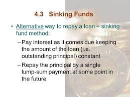 Sinking Fund Formula For Depreciation by Sinking Fund Method Sample Problems With Solutions Sinks Ideas