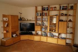 hochwertige hülsta wohnzimmer wohnwand regalwand erle massiv