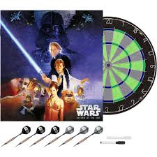 Metal Gun Cabinets Walmart by Limited Edition Star Wars The Return Of The Jedi Bristle Dartboard