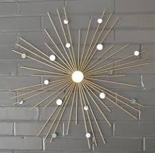 26 Hand Welded By Lisa Steel Starburst Sunburst Modern Metal Wall