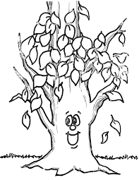 Fall black and white fall tree clipart black and white clipartfest