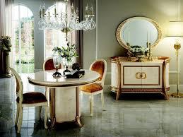 arredoclassic luxus klasse möbel esszimmer rund tisch esstisch 4 stühle neu