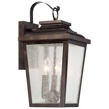 the great outdoors 72172 189 3 light outdoor wall sconce from the