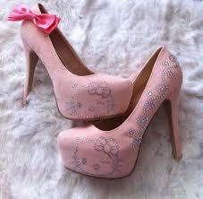 cute hello kitty high heels shoes for girls dashingamrit